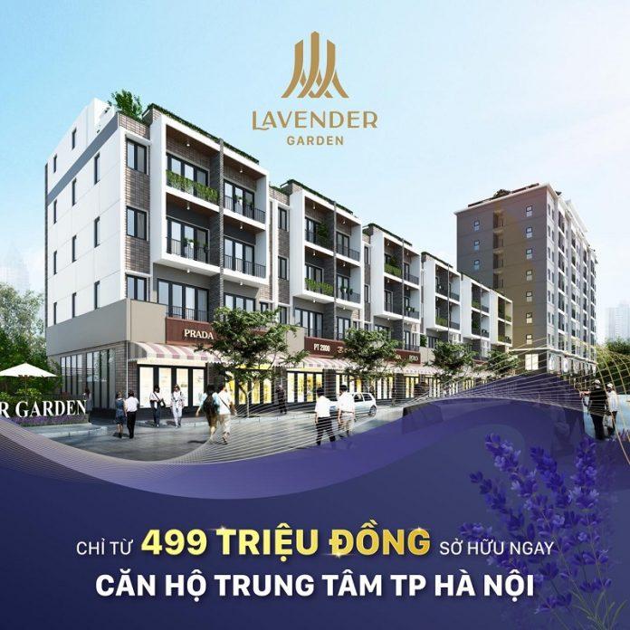 Mở bán Lavender Garden 176 Định Công