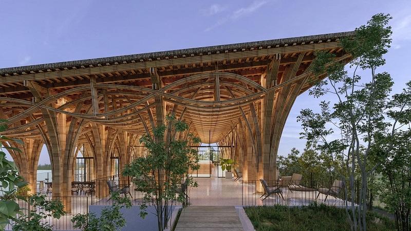 Nhà vườn Tre 2 dự án Cullinan Resort Hoà Bình
