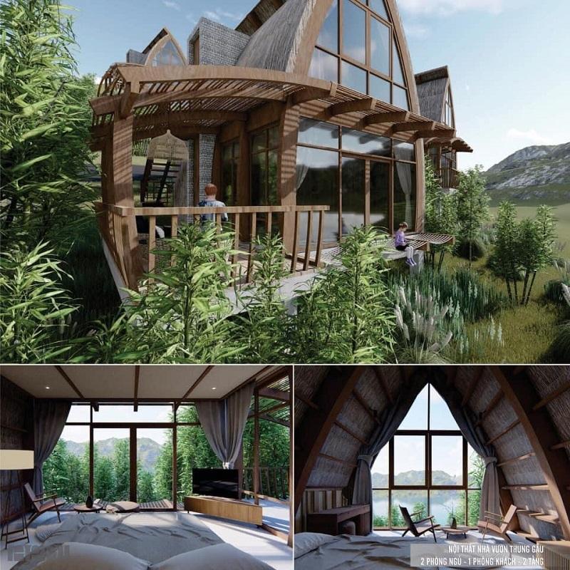 Nhà vườn Thung Gấu dự án Cullinan Resort Hoà Bình