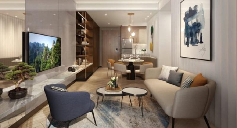 Nội thất căn hộ 2 Masteri West Height Smart City