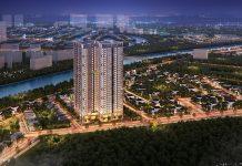 Phối cảnh 1 chung cư The 5 Degrees Phố Cúc Ecopark - An Phú
