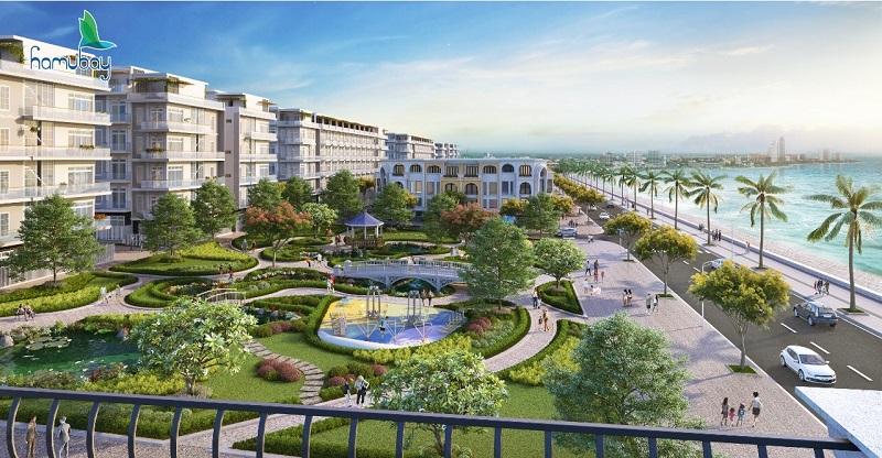 Phối cảnh 2 dự án Hamubay Phan Thiết - Bình Thuận