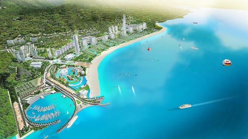Phối cảnh dự án Sonasea Harbor City Vân Đồn - CEO Group
