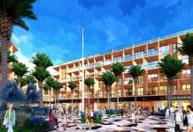Phối cảnh 4 shophouse dự án Sun Marina Plaza Hạ Long