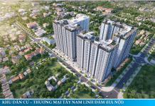 Phối cảnh dự án chung cư Lavita Linh Đàm - Hưng Thịnh