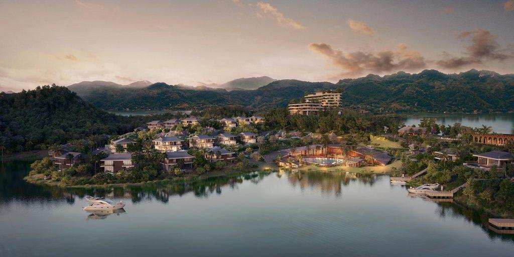 Phối cảnh dự án Cullinan Resort Hoà Bình