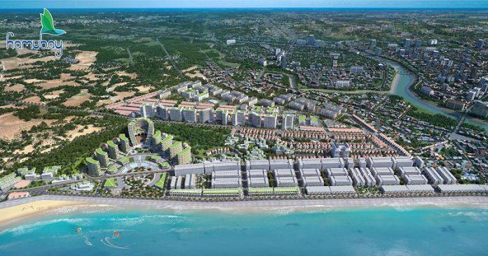 Phối cảnh dự án Hamubay Phan Thiết - Bình Thuận