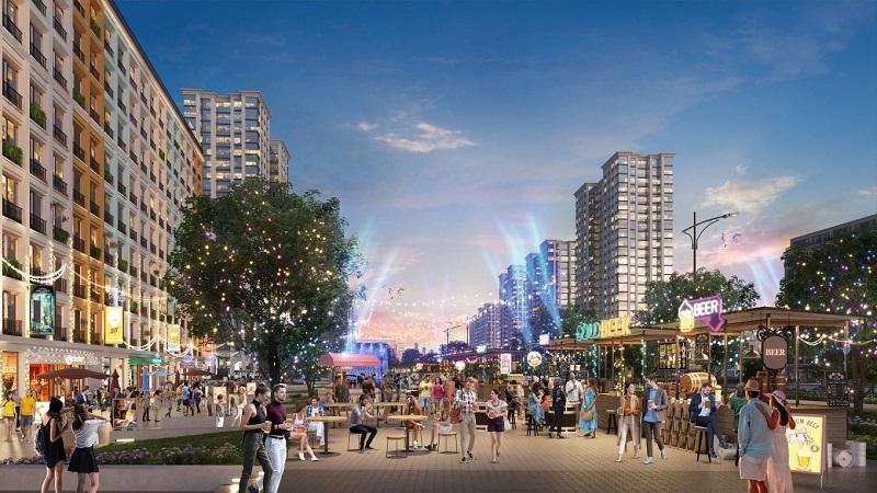 Phối cảnh không gian tiện ích dự án Sun Grand Boulevard Thanh Hoá