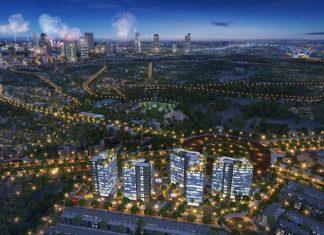 Phối cảnh khu đô thị ASC Móng Cái đầu cầu Bà Mai