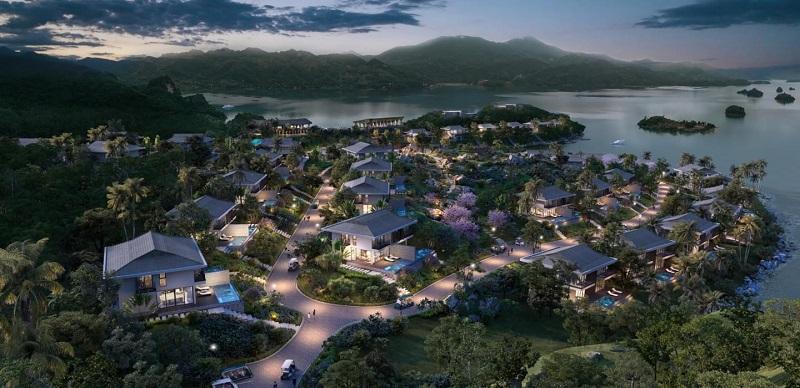 Phối cảnh siêu dự án Cullinan Resort Hòa Bình