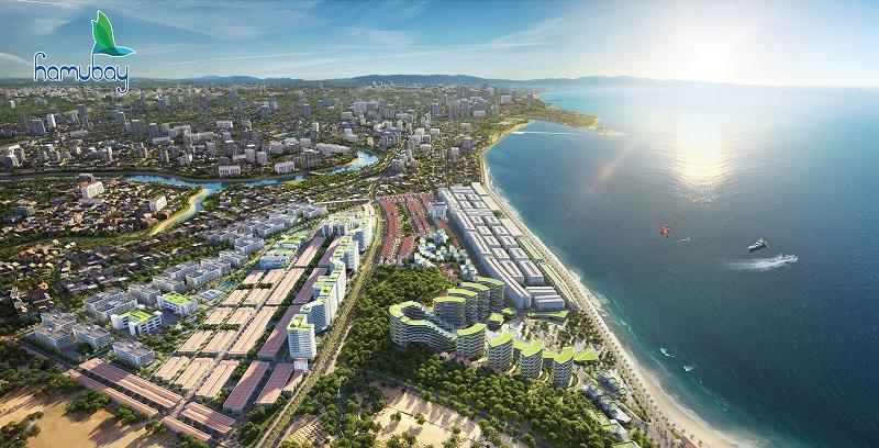 Phối cảnh tổng thể dự án Hamubay Phan Thiết - Bình Thuận