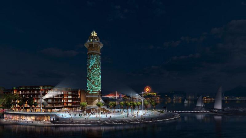 Quảng trường shophouse dự án Sun Marina Plaza Hạ Long
