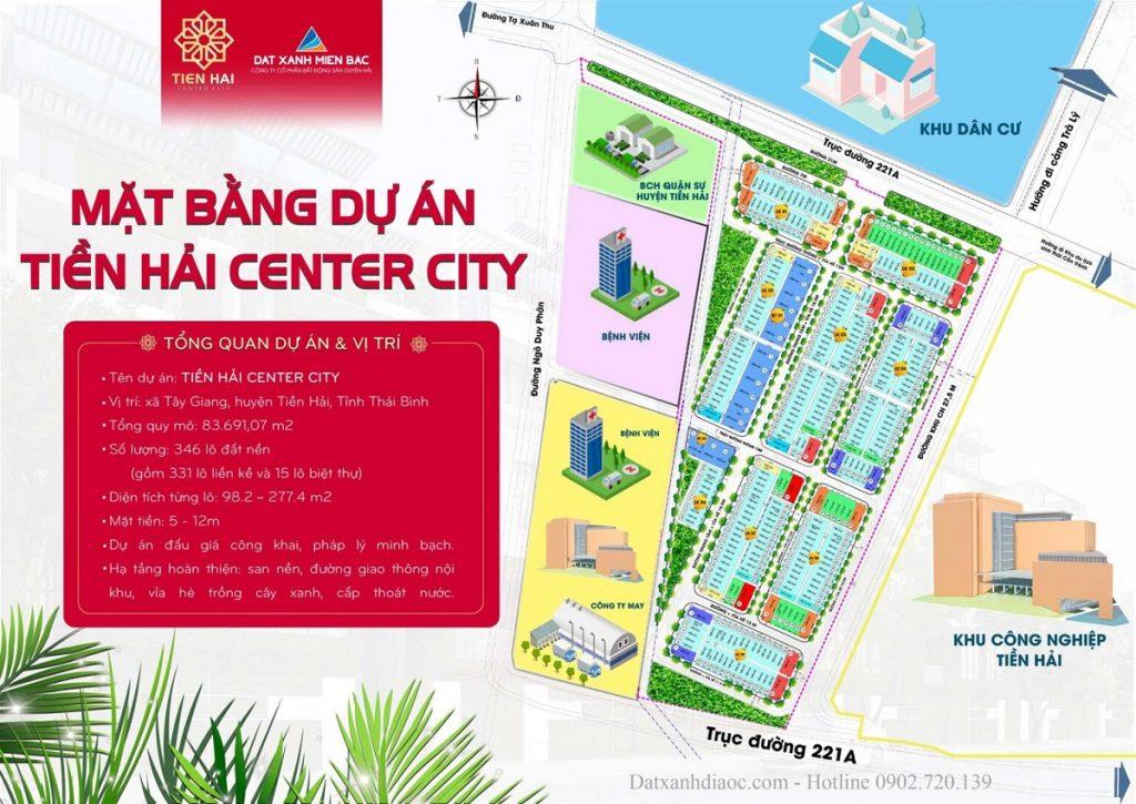 Quy hoạch Tiền Hải Center City - Trái Diêm 3 Thái Bình