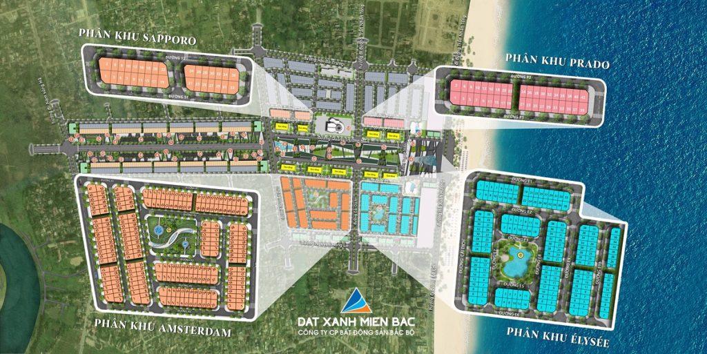 Quy hoạch phân khu dự án Sun Grand Boulevard Sầm Sơn - Thanh Hóa