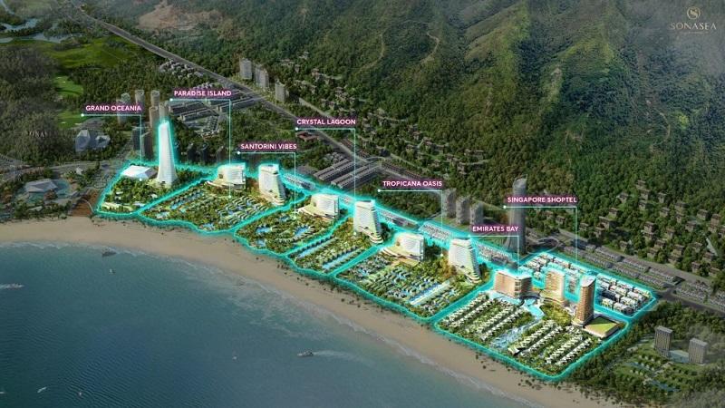 Quy hoạch tổng thể dự án Sonasea Harbor City Vân Đồn - CEO Group