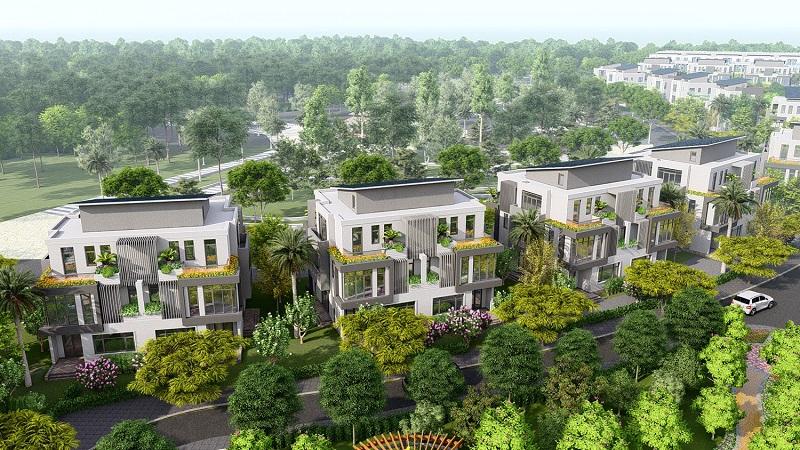 Thiết kế biệt thự Lan Viên Villa Đặng Xá - Gia Lâm