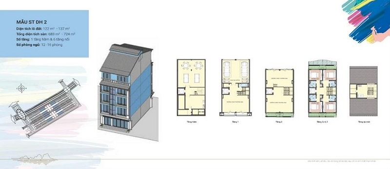 Thiết kế Shoptel mẫu DH2 dự án Sonasea Harbor City Vân Đồn - CEO Group