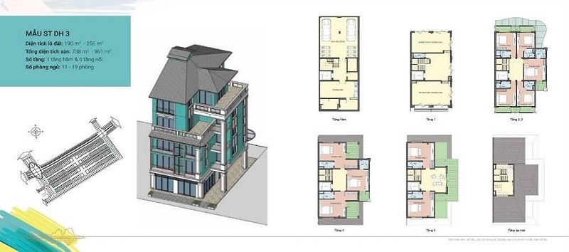 Thiết kế Shoptel mẫu DH3 dự án Sonasea Harbor City Vân Đồn - CEO Group