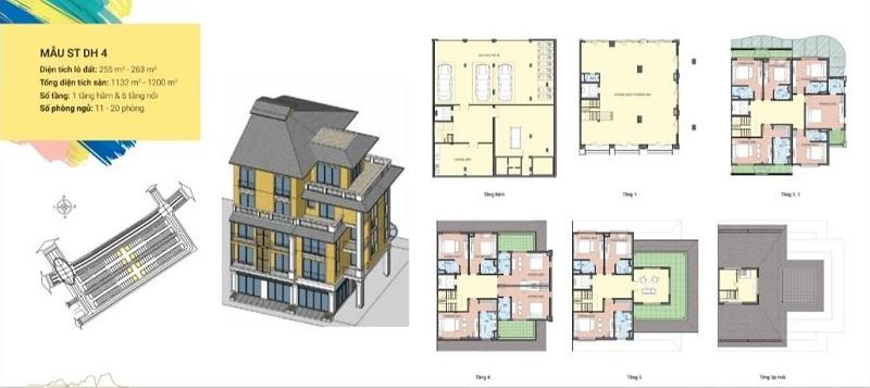 Thiết kế Shoptel mẫu DH4 dự án Sonasea Harbor City Vân Đồn - CEO Group
