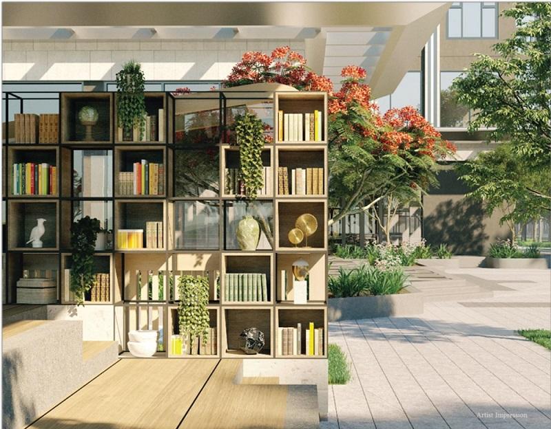 Thư viện sách Masteri West Height Smart City