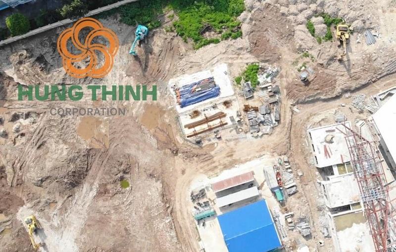 Tiến độ thi công 2 dự án chung cư Lavita Linh Đàm - Hưng Thịnh