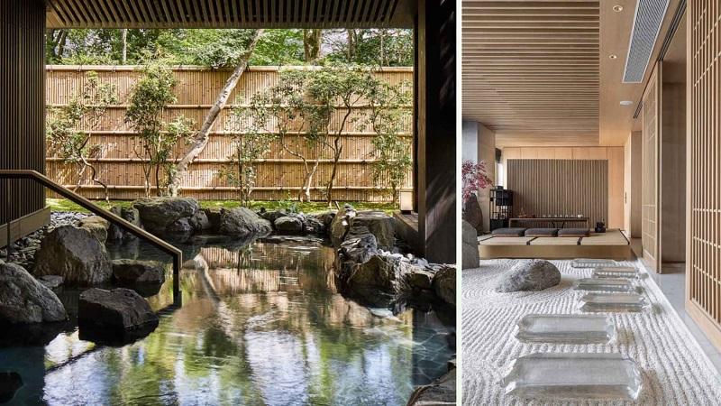 Tiện ích tắm khoáng nóng Swan Park Onsen Residences Ecopark