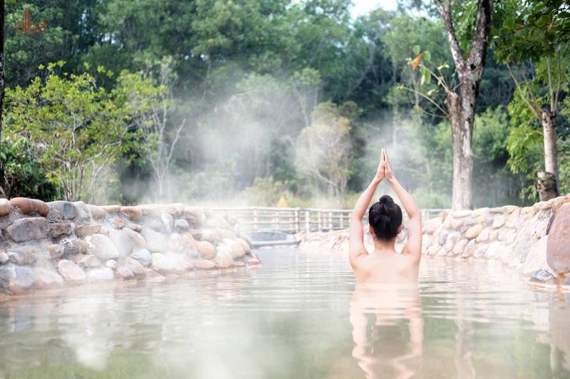 Tiện ích tắm khoáng nóng 2 Swan Park Onsen Residences Ecopark