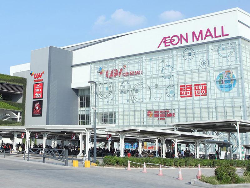 Aeon Mall cạnh dự án The Diamond Point C14 Phúc Đồng - Long Biên