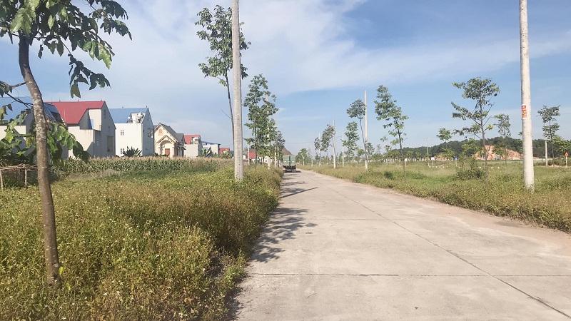 Hạ tầng khu dân cư Hồng Tiến - Phổ Yên cạnh Samsung