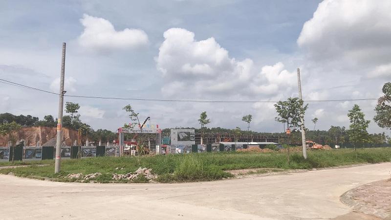 Hạ tầng 3 khu dân cư Hồng Tiến - Phổ Yên cạnh Samsung