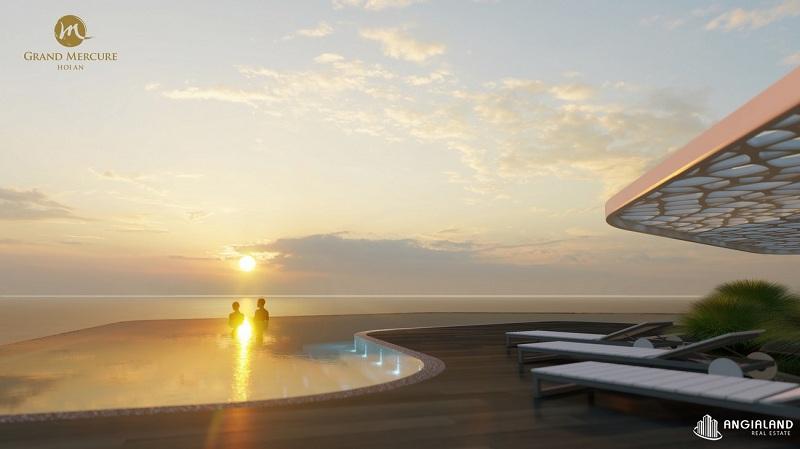 Bể bơi dự án Grand Mercure Hội An - Điện Bàn - Quảng Nam