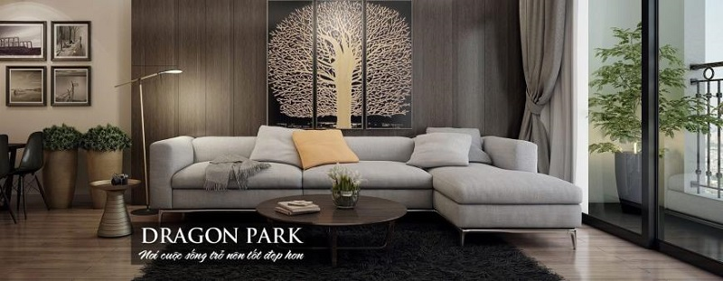 Căn hộ mẫu dự án Hải Long Trang - Dragon Park Văn Giang