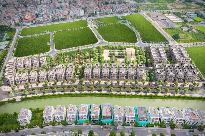 Flycam 3D 1 dự án The Diamond Point C14 Phúc Đồng - Long Biên