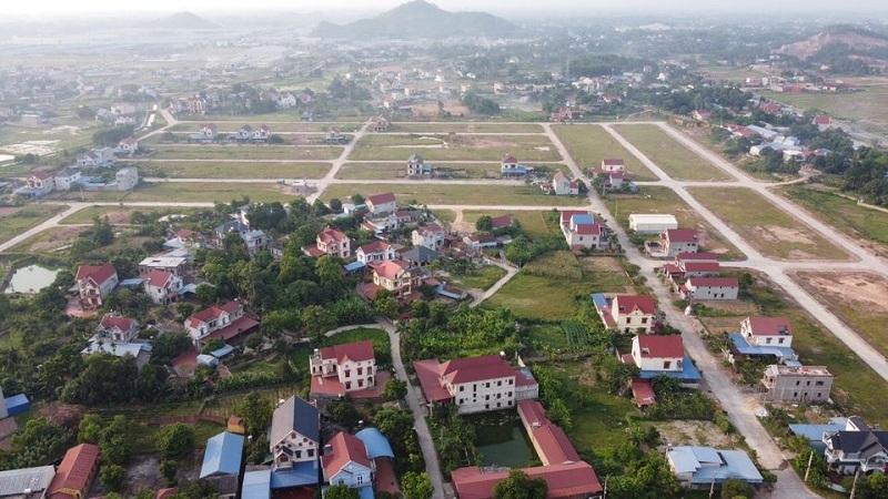 Hạ tầng thực tế đất đấu giá Hồng Tiến - Phổ Yên cạnh Samsung