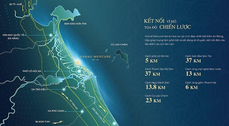 Kết nối dự án Grand Mercure Hội An - Điện Bàn - Quảng Nam