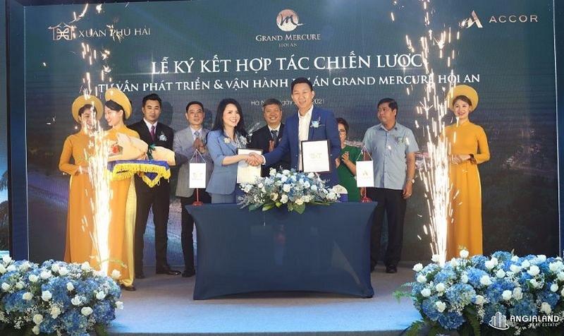 Lễ ký kết dự án Grand Mercure Hội An - Điện Bàn - Quảng Nam