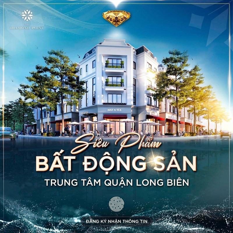 Mở bán dự án The Diamond Point C14 Phúc Đồng - Long Biên