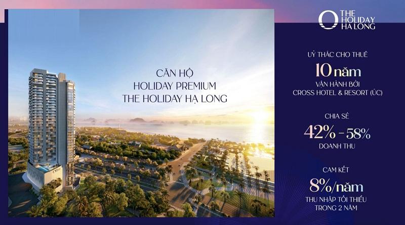 Mở bán dự án The Holiday Bãi Cháy - Hạ Long