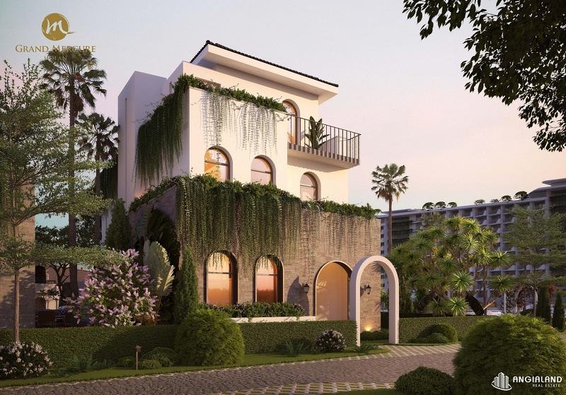 Phối cảnh 1 biệt thự Vườn dự án Grand Mercure Hội An - Điện Bàn - Quảng Nam