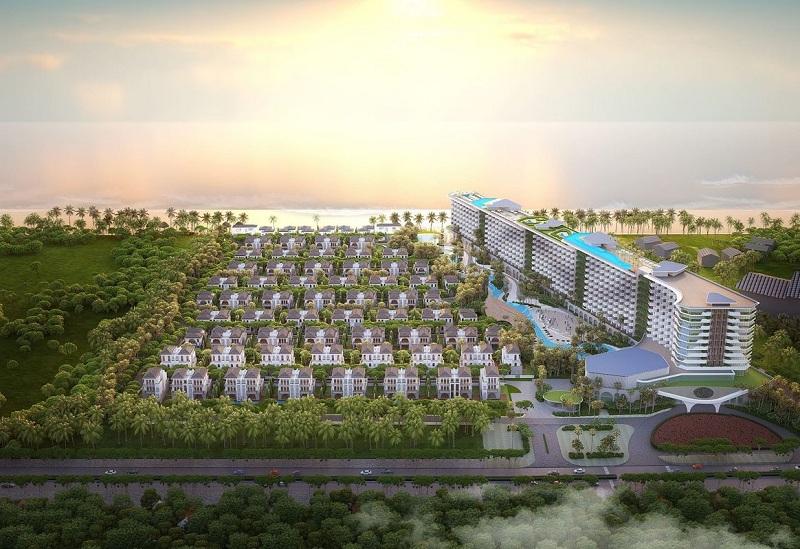 Phối cảnh 1 dự án Grand Mercure Hội An - Điện Bàn - Quảng Nam