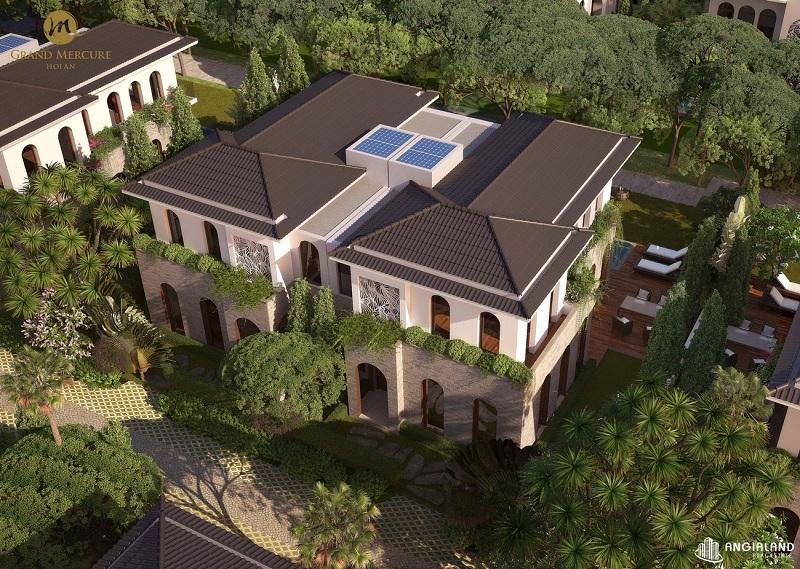 Phối cảnh 2 biệt thự dự án Grand Mercure Hội An - Điện Bàn - Quảng Nam
