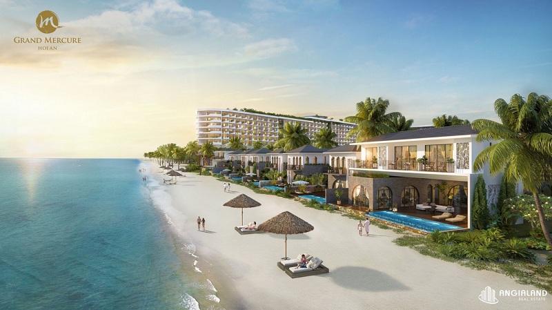 Phối cảnh 4 dự án Grand Mercure Hội An - Điện Bàn - Quảng Nam