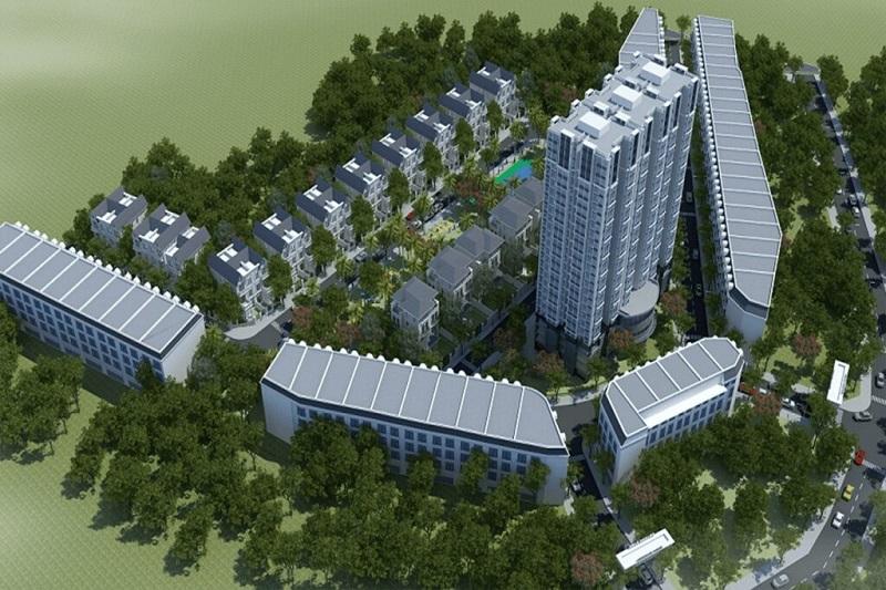 Phối cảnh dự án Hải Long Trang - Dragon Park Văn Giang