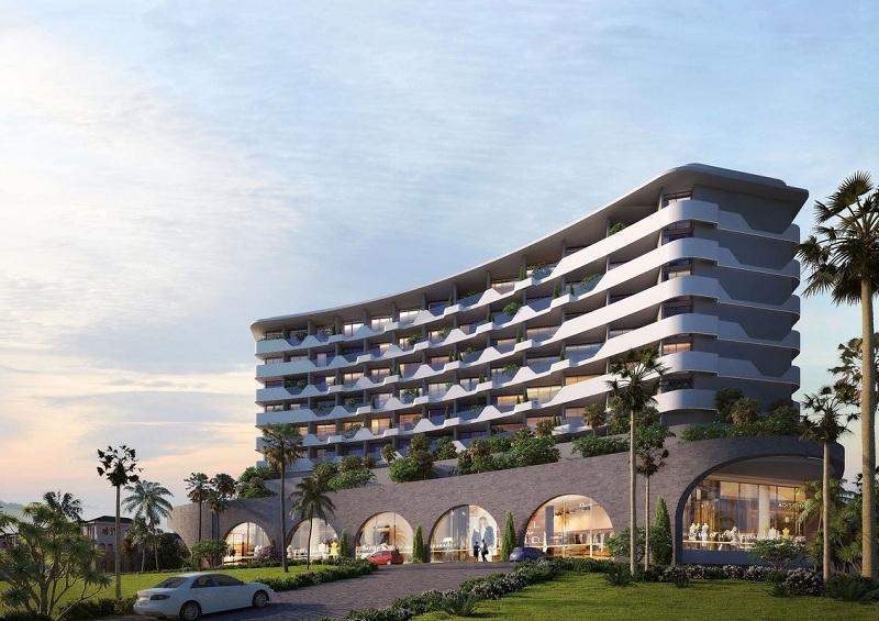 Phối cảnh khách sạn dự án Grand Mercure Hội An - Điện Bàn - Quảng Nam