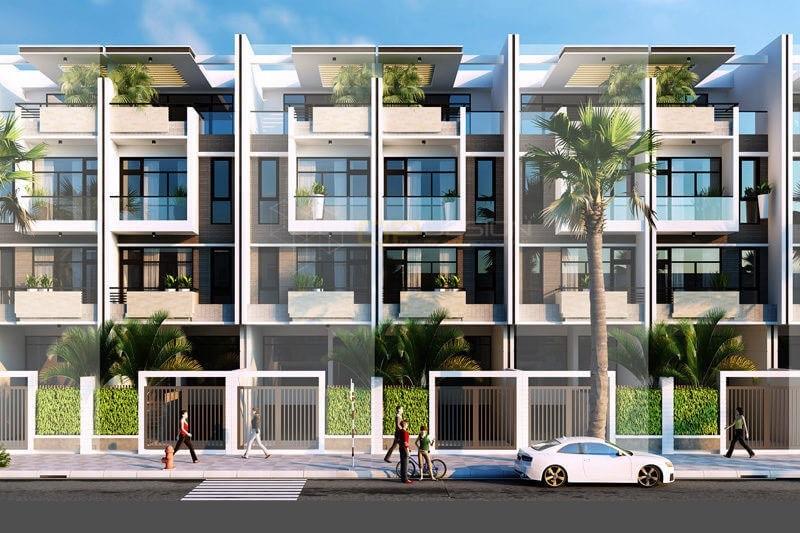 Liền kề khu nhà ở Phố mới Văn Giang - Bảo Hưng