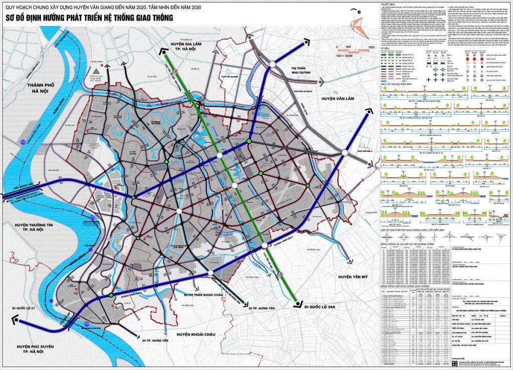 Quy hoạch huyện Văn Giang đến năm 2030