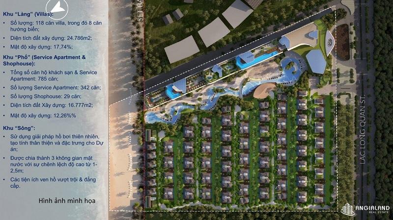Quy hoạch phân khu dự án Grand Mercure Hội An - Điện Bàn - Quảng Nam