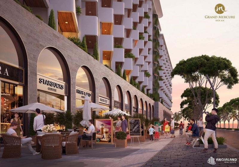 Shophouse dự án Grand Mercure Hội An - Điện Bàn - Quảng Nam