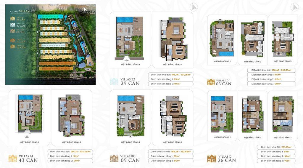 Thiết kế biệt thự dự án Grand Mercure Hội An - Điện Bàn - Quảng Nam