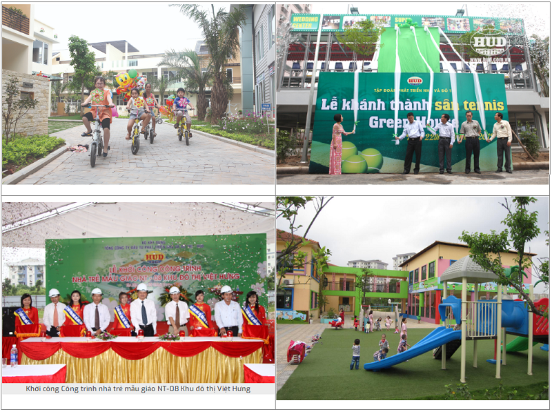 Tiện ích ngoại khu Shophouse Nguyễn Cao Luyện - Vạn Hạnh CT10 Việt Hưng - Long Biên